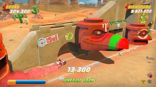 В прошлом месяце работники студии HelloGames рассказали о том, что аркадная гоночная игра под названием Joe Danger у .... - Изображение 2