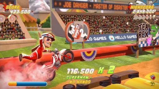 В прошлом месяце работники студии HelloGames рассказали о том, что аркадная гоночная игра под названием Joe Danger у .... - Изображение 3