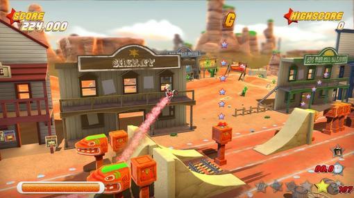 В прошлом месяце работники студии HelloGames рассказали о том, что аркадная гоночная игра под названием Joe Danger у .... - Изображение 1