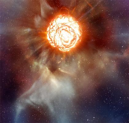 Из сообщений источников в обсерватории Мауна Кеа, расположенной на Гавайях, красный гигант Бетельгейзе, расположенны .... - Изображение 1