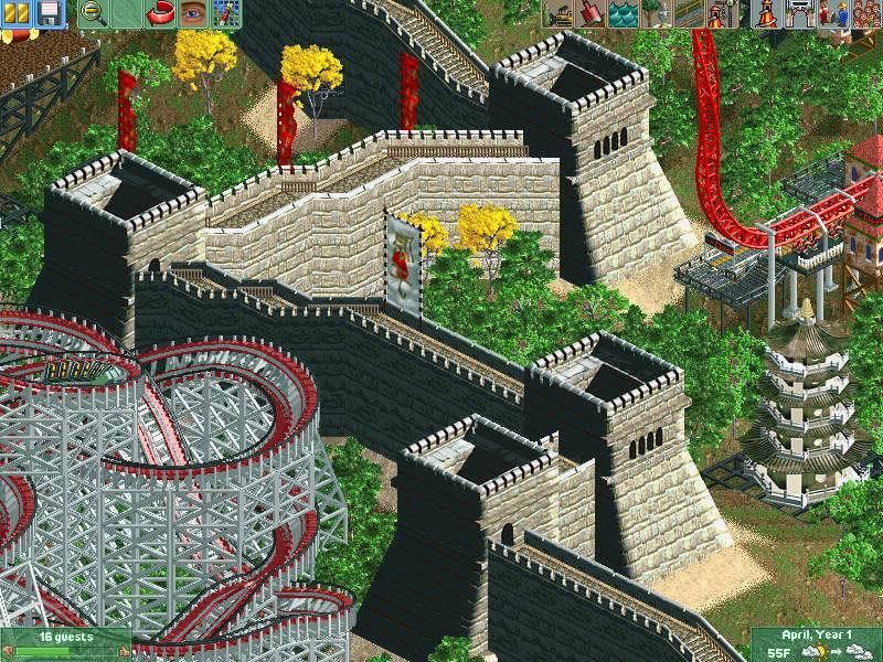 Игру Rollercoaster Tycoon 2