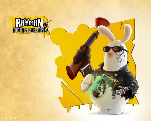 Песни из игры Rayman Raving Rabbits. АААААААААА!!!!!!!! Rabbids - Girls just wanna have fun   Rabbids - Papa's Got A .... - Изображение 1