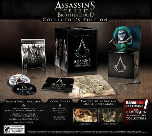 Это было только вопросом времени, когда Ubisoft покажет коллекционное издание Assassin's Creed: Brotherhood, и .... - Изображение 1