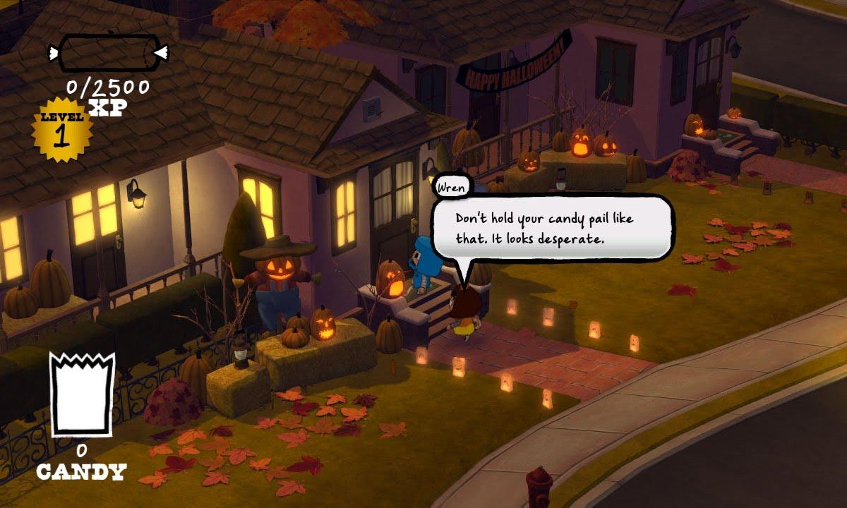 horror игра видео