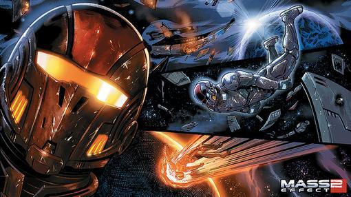 Итак комикс нам рассказывает историю о том, как Лиара Т'Сони ведет поиски Капитана Шепарда, который погиб в начале в ... - Изображение 1