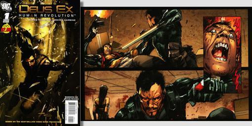 """Представляем вашему вниманию перевод комикса Deus Ex: Human Revolution (""""Человеческая революция"""") #1  Этот комикс (а ... - Изображение 1"""