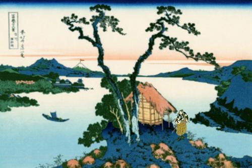 Самурай: жизнь, как мгновенье цветка...  Жинь цветку дана,Дабы сиял золотом;Жизнь продолжал...  Цветок… Жизнь цветка ... - Изображение 2