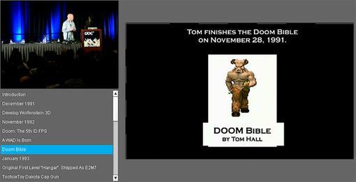 Ба, какие люди на сцене! Джон Ромеро и Том Холл рассказывают о том, как они делали DOOM. Видео с прошедшей недавно G ... - Изображение 1