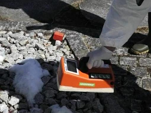 """Сотрудники аварийной АЭС """"Фукусима-1"""" забетонировали обнаруженную в субботу трещину в фундаменте второго энергоблока .... - Изображение 1"""
