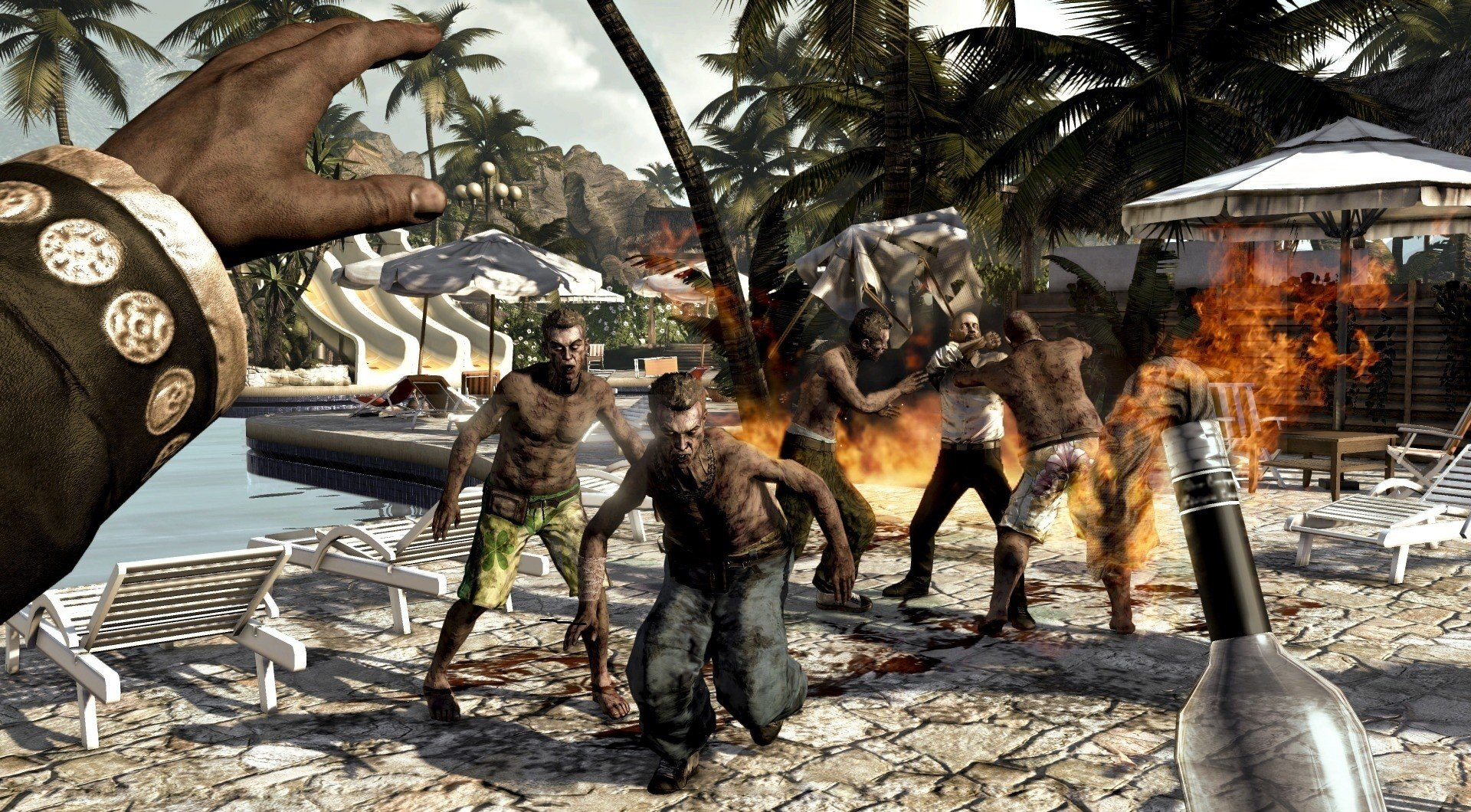 все острова и их фото зомби мании