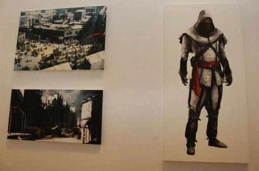 4 апреля Ubisoft открыла в Мюнхене небольшую художественную выставку, посвященную серии Assassin`s Creed. В ходе выс ... - Изображение 2