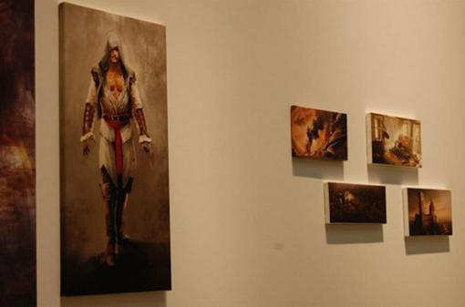4 апреля Ubisoft открыла в Мюнхене небольшую художественную выставку, посвященную серии Assassin`s Creed. В ходе выс ... - Изображение 3