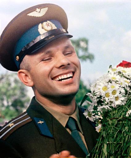 Ровно 50 лет назад, 12 апреля 1961 года, в 9:07 по московскому времени, Юрий Алексеевич Гагарин произнес своё велико ... - Изображение 1