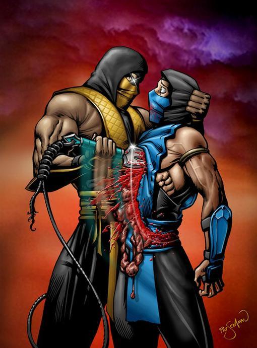Мой самый любимый персоонаж Скорпион. Обученый ниндзя идеальный убийца из клана Ширай Рю. Всю свою жизнь он провёл в ... - Изображение 1