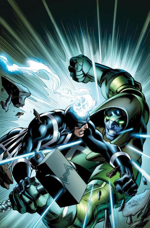 Все-таки MARVEL не забыли снова воскрешать супергероев и на очереди у нас - король! Черный гром предводитель расы Не ... - Изображение 2