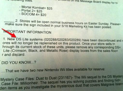 После появления в продаже новой портативной консоли Nintendo 3DS дни всенародно любимой DS Lite были сочтены - вопро ... - Изображение 1