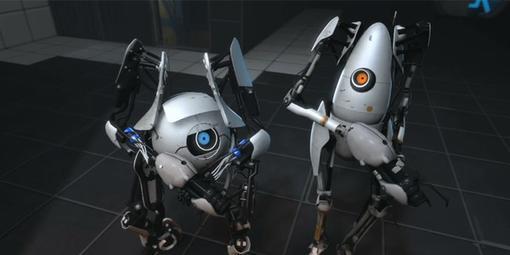Всем привет! Сегодня я хочу представить вам мою небольшую рецензию на кооперативный режим Portal 2.  Наверно у всех  ... - Изображение 1