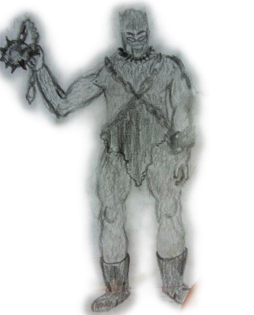 Тысячу лет назад Шао Кан заточил Цербера в темницу, связав его цепями, и надел ему на лицо проклятую волчью пасть ко ... - Изображение 1