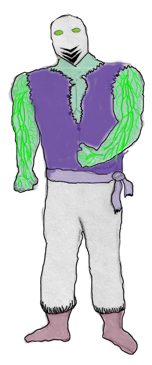 Собственно персонаж...  История Acidus был торговцем в Эдении до ее слияния  с Внешним миром. По природе своей профе ... - Изображение 1