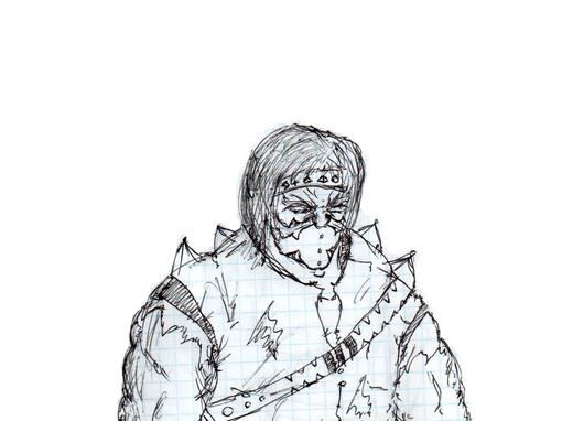 Имя персонажа : Daikon  Внешность :Рост : 190смВес : 80Возраст : 5тысяч лет  Цвет : Белые волосы, кожа смуглого отте ... - Изображение 3