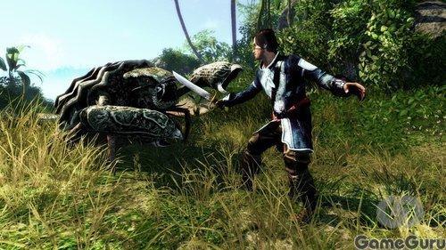 Deep Silver распространила скоп новых скриншотов ролевой игры Risen 2. Что мы на них видим? Чудовище с огромной клеш ... - Изображение 2