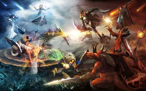 Компания GameNet анонсирует новую DoTA style игру официально бесплатную в России - Titans Online. Вас ждут тактическ ... - Изображение 1