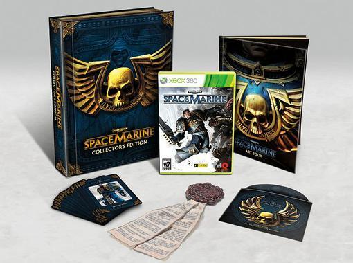 THQ анонсировала коллекционную версию шутера Warhammer 40.000: Space Marine. Помимо диска с игрой, в набор войдут: э ... - Изображение 2
