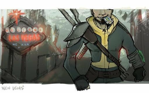 """Хелоу Канобу! В сети появился мод """"Requiem For The Capital Wasteland"""", который позволяет объединить Fallout: New Veg ... - Изображение 2"""