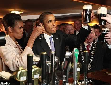 Барак Обама, всем кто не знает - Президент США, во время своей поездки по Европе на этой неделе, получил довольно ин ... - Изображение 1