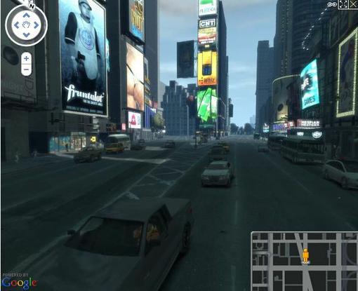 Группа энтузиастов с сайта GTA4.net создала карту города Liberty City, основанную на технологии Google Maps. Казалос ... - Изображение 1