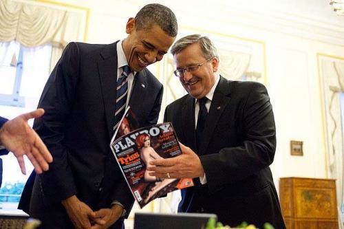 Во время недавнего визита президента США Барака Обамы в Польшу, премьер-министр Дональд Туск подарил ему несколько п ... - Изображение 1