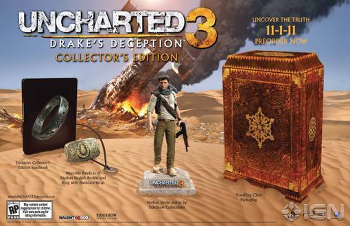 Naughty Dog анонсировали - Uncharted 3: Drake Deception Collector's Edition.   Издание поступит в продажу 1 ноября,  .... - Изображение 1
