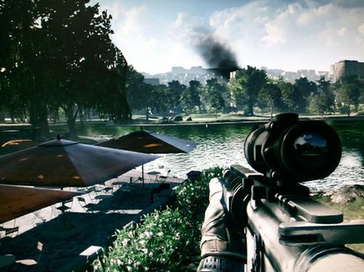 «Отдача оружия в Battlefield 3 приносит чувство глубокого удовлетворения, особенно - когда после неё падает повержен ... - Изображение 1