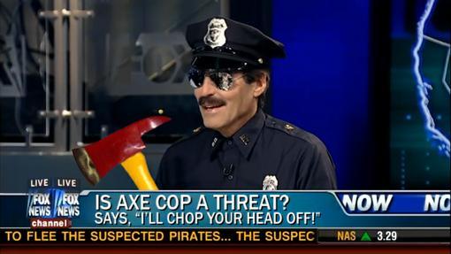 Axe Cop - это не комикс. Это зарождающийся интернет-мем!Я не фанат комиксов. Никогда им не был, несмотря на то, что  ... - Изображение 3