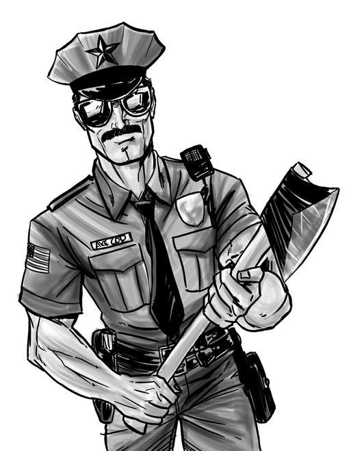 Axe Cop - это не комикс. Это зарождающийся интернет-мем!Я не фанат комиксов. Никогда им не был, несмотря на то, что  ... - Изображение 1