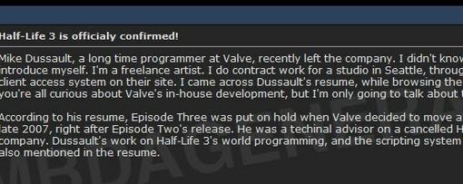 На сайте GameInformer опубликовали новые слухи о судьбе игровой серии Half-Life, официальной информации о которой не ... - Изображение 1
