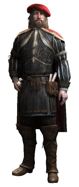 В Assassin's Creed  2  и Assassin's Creed  Brotherhood  есть  один влиятельный  персонаж  Леонардо Да Винчи,  которы ... - Изображение 1