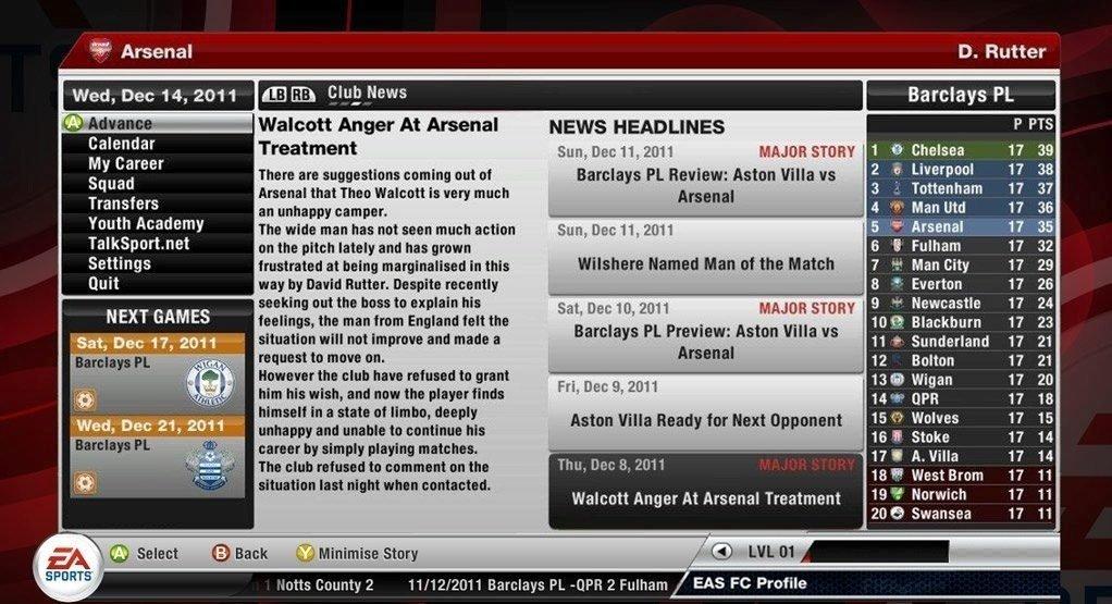 Получается, что для каждого геймера, кто готов купить FIFA 12 - скриншоты п