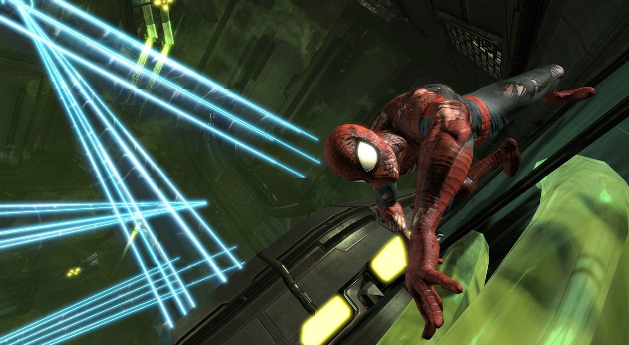 Игру Spider Man Edge Of Time