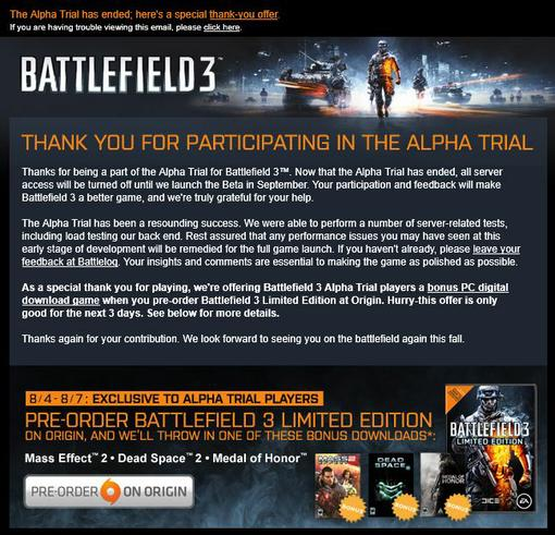 Итак, вы выполнили свой долг, дали ценную информацию DICE во время тестирования Battlefield 3, и вы хотите узнать  .... - Изображение 2