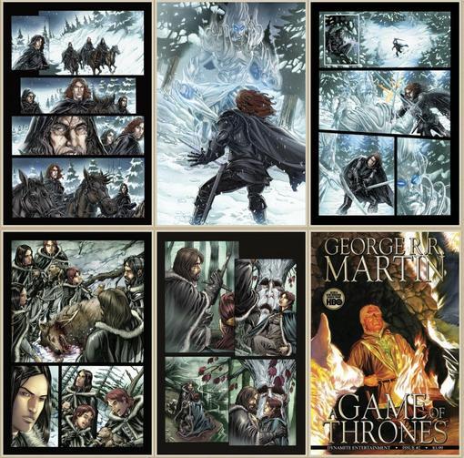 В сентябре 2011 года начнутся продажи комикса-адаптации саги Джорджа Мартина «Песнь Льда и Пламени» издательства Dyn ... - Изображение 1