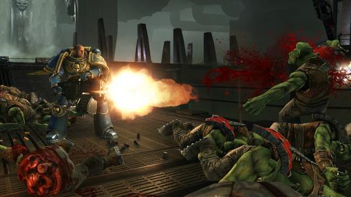 Всем привет!Недавно скачал демо Warhammer 40.000 Space Marine!Игра меня впячитлила, хотя фаном серии я не был.Обсуждаем! - Изображение 1