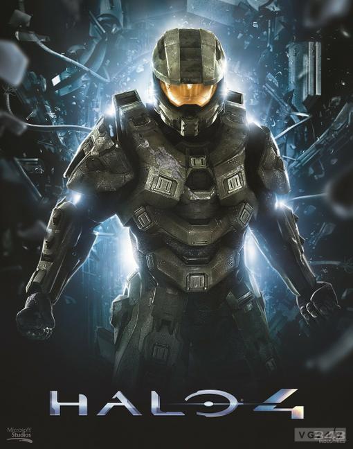 343 Industries дразня фанатов Halo, выложили в сеть потрясающий арт, изображающий Мастера Чифа. - Изображение 1