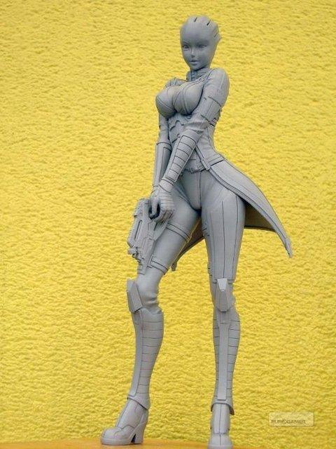 BioWare представили статую, изображающую одного из членов команды оригинального Mass Effect (в Mass Effect 2 она был ... - Изображение 2