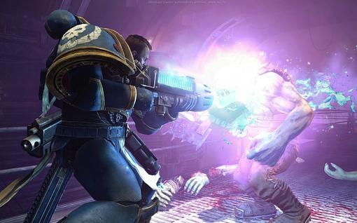 Некоторые издания уже оценили новую игру во вселенной Warhammer 40,000: Space Marine.  Joystiq- 8/10  Gamer's Hell-  ... - Изображение 1