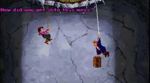 Monkey Island. (Остров обезьян)Я уже писал о двух классических квестах LucasArts, это Dat of Tentacle и Full Thro ... - Изображение 2