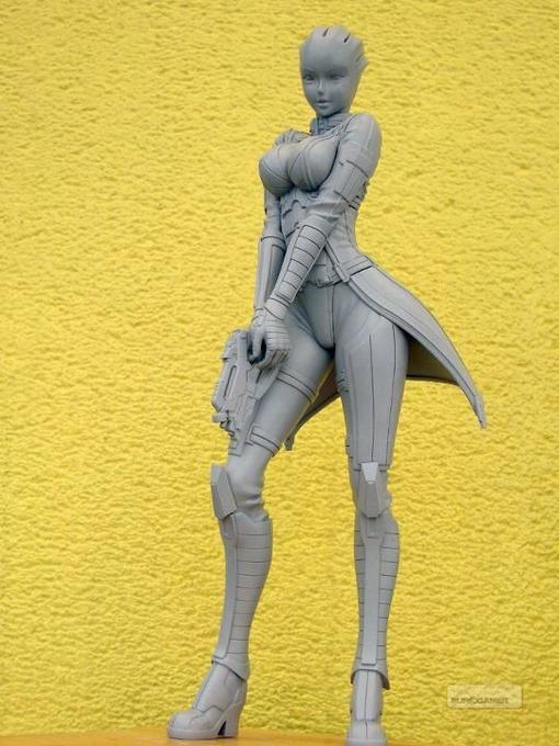 Недавно японская фирма Kotobukiya, занимающаяся производством игрушек, представила публике прототип статуэтки Лиары  ... - Изображение 1