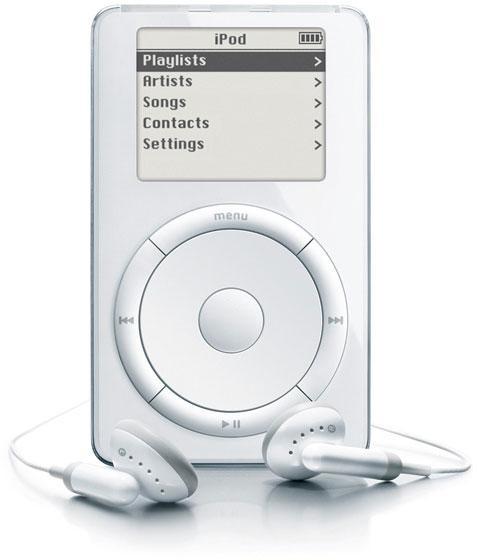 Чуть не забыл - сегодня, 23 октября, Стив Джобс вышел на сцену и представил самый первый iPod! Он перевернул всю муз ... - Изображение 1