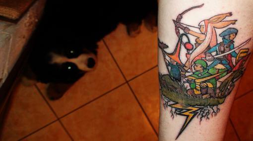 В честь 10-ти летнего знакомства с серией сделал себе татуировку.  Долго подходил к этому поступку и не хотел баналь ... - Изображение 1