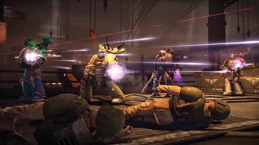 Сегодня THQ объявила о большом DLC для Warhammer 40.000: Space Marine, намеченный на декабрь. Обещают добавить беспл ... - Изображение 2